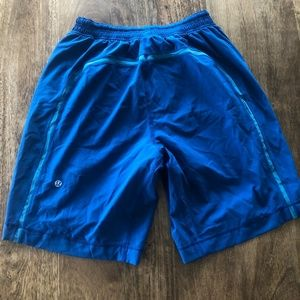 Lululemon Pace Breakers Blue Small